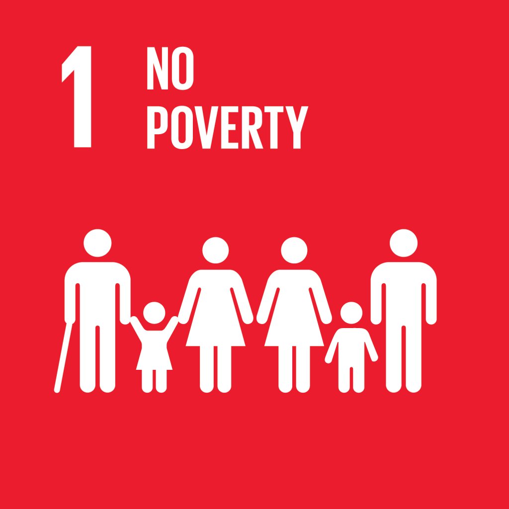 An image of UN Sustainable Development Goal 1