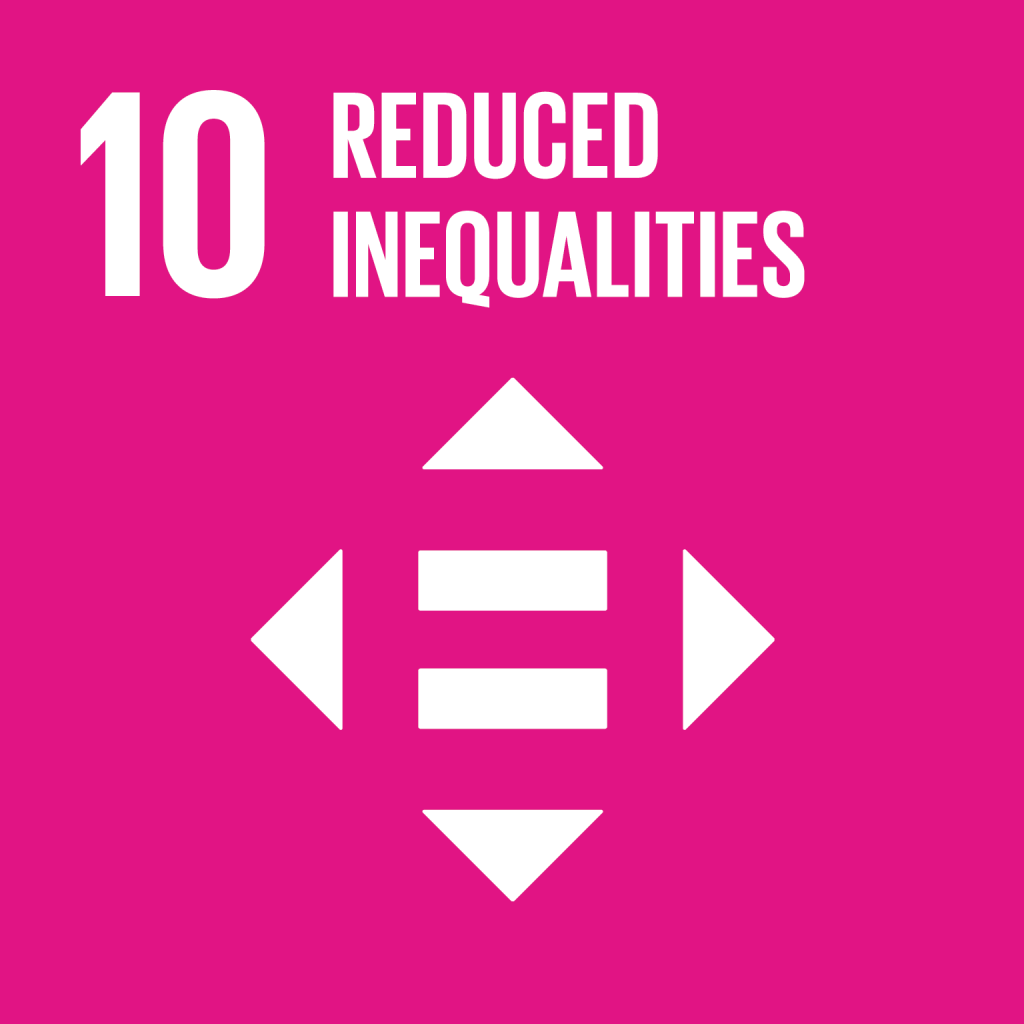 An image of UN Sustainable Development Goal 10